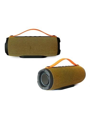 Platoon PL-4305 Bluetooth Speaker Fm/Sd/Usb Sarı